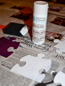 puzzle craft paint