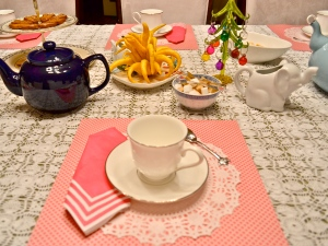 tea party placemat partyscape