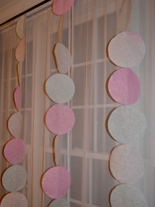 coffee filter garland