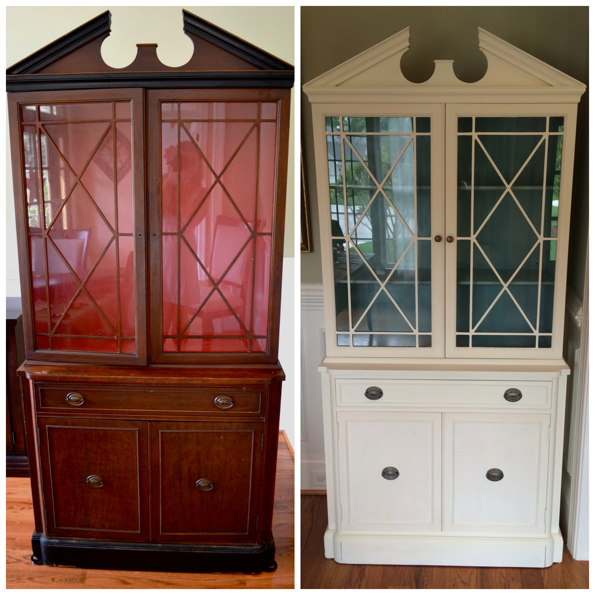 a my and bargain how such refinishing china other mom cabinet i craigslist cost am s old pin refinished triple of the to