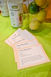 citrus mint water recipe