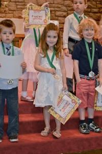 pre k grad certificate medal